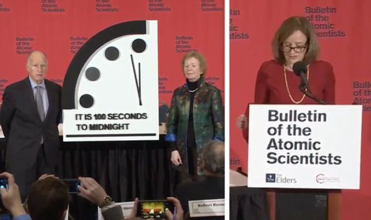 Doomsday Clock 2020: the world is between 100 seconds and midnight - It is the end of the world | Science | news