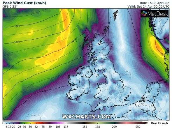 UK long-range forecast: Snow could hit northern regions once again in April