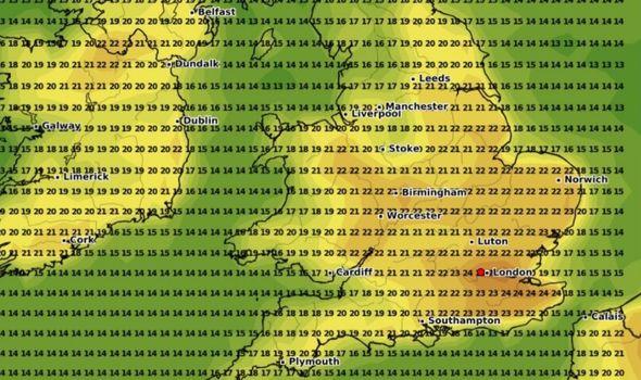 UK hot weather