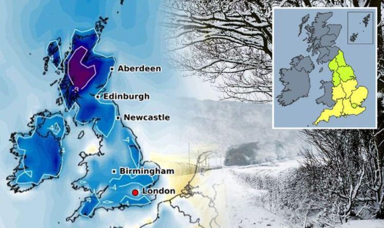 """Low Temperature Warning: Met Office warns of """"health risks"""" on arrival of freezing temperatures Weather   news"""
