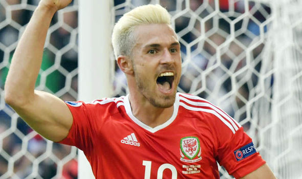 Image result for aaron ramsey wales under 21