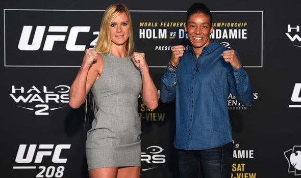 Holly Holm and Germaine de Randamie