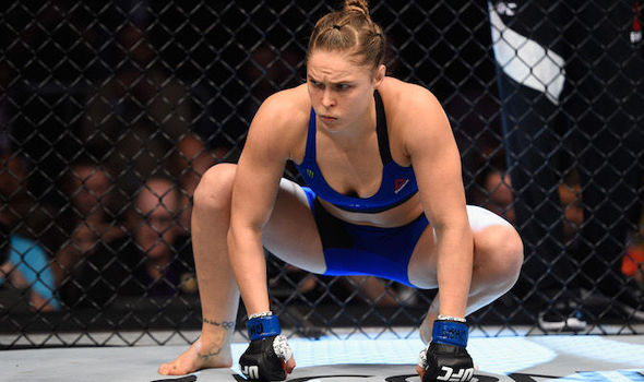Ronda Rousey UFC star