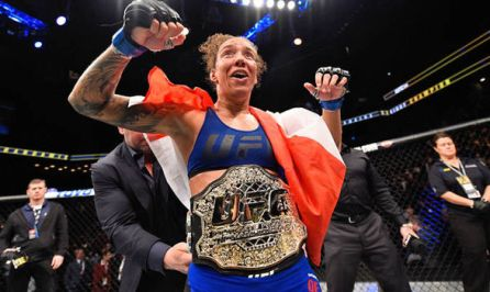 Image result for germaine de randamie ufc