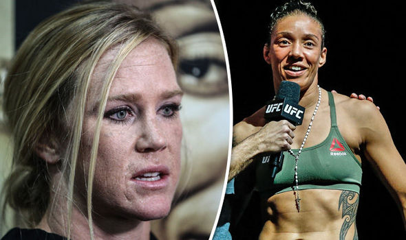 UFC 208 stars Holly Holm and Germaine de Randamie