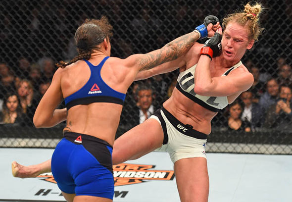 Germaine de Randamie v Holly Holm