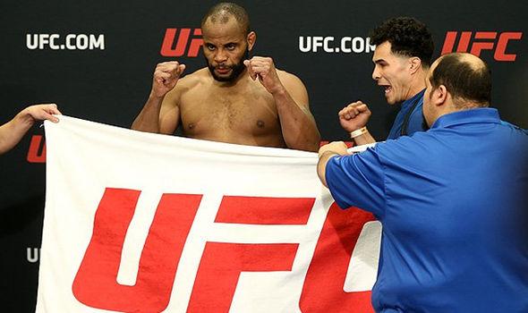 UFC star Daniel Cormier