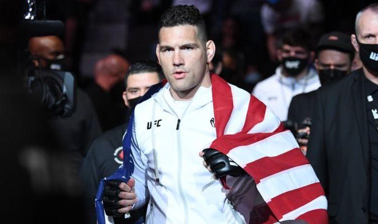 Chris Weidman injury: American suffers horrific broken leg in Uriah Hall UFC 261 bout