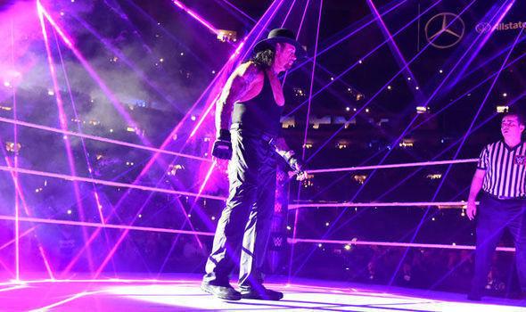 Undertaker a fait un choc de retour à RAW