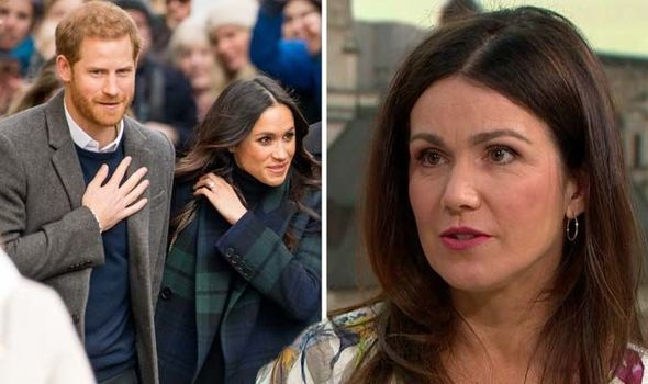 ITV Good Morning Britain: Susanna Reid makes royal wedding