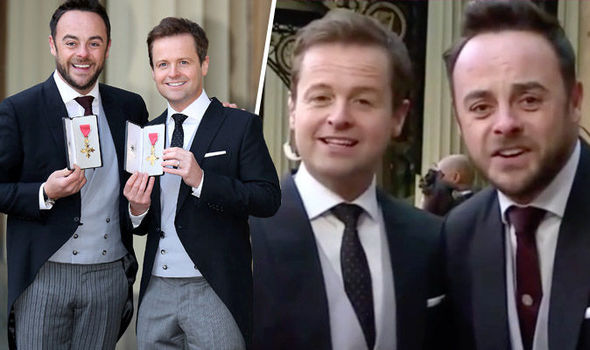 Ant and Dec switch places for OBE win