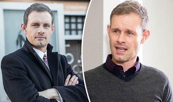 Ben Price who stars as Nick Tisley leaving Corrie