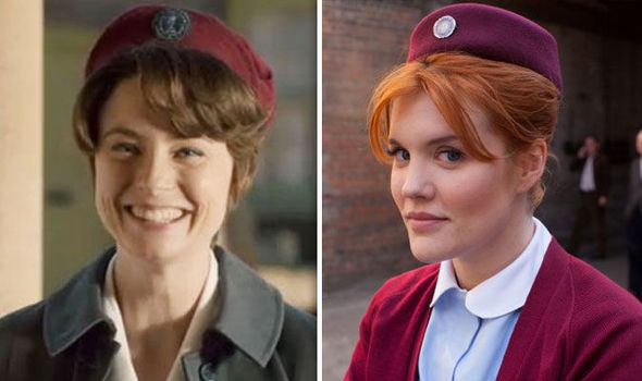 Valerie Dyer and Patsy Mount on Call the Midwife