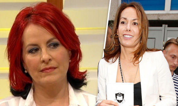 Carrie Grant and Tara Palmer-Tomkinson