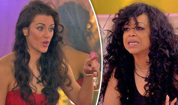 Celebrity Big Brother 2017 Bosses REMOVE Stacy Francis after Jessica Cunningham fight