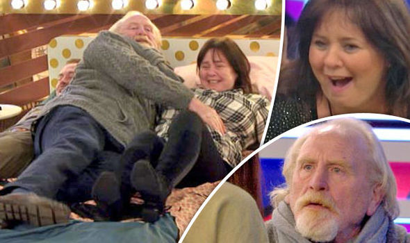 Celebrity Big Brother 2017 Fans in uproar at James Cosmo's THREESOME with Coleen Nolan