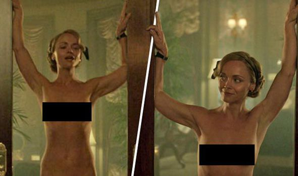 Christina Ricci naked in Z: The Beginning of Everything