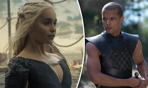 Daenerys Targaryen and Greyworm