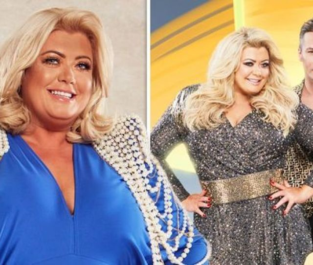 Dancing On Ice  Theres No Need Gemma Collins Reveals Truth Behind Backstage Secret