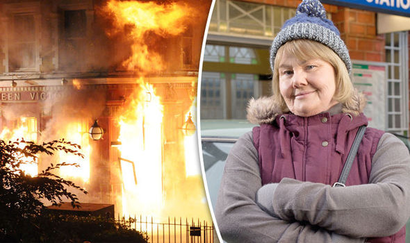 EastEnders spoiler Aunt Babe and Max Branning to BURN down the Queen Vic