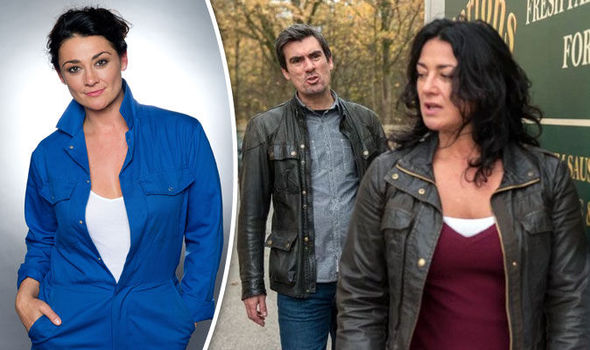 Emmerdale Moira and Cain Dingle