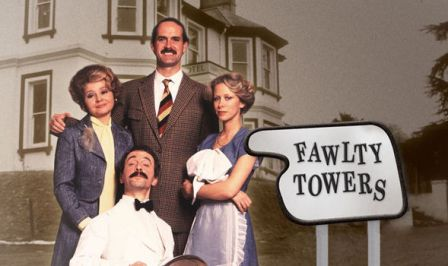 Image result for fawlty towers tv series