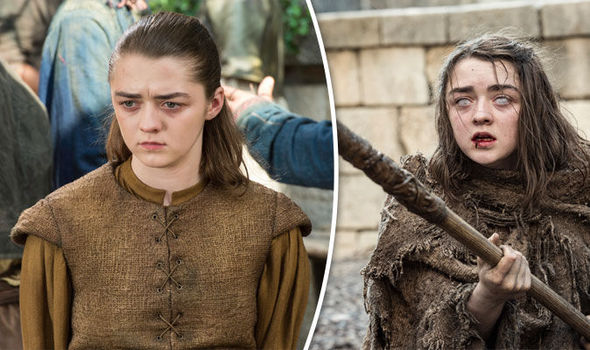 Maisie Williams promises 'huge cliffhanger'