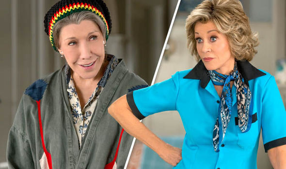 Grace and Frankie: Lily Tomlin and Jane Fonda