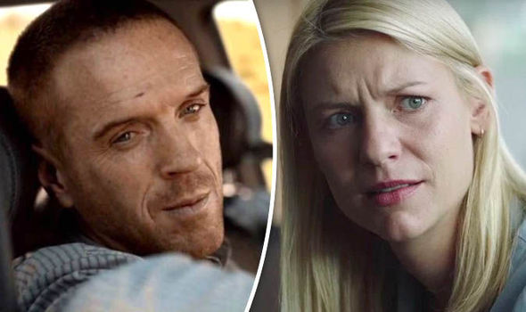 Homeland: Brody and Carrie