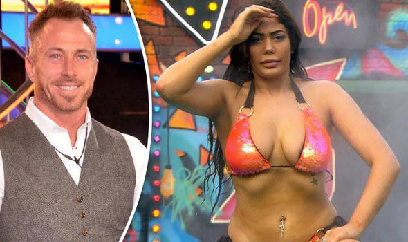 James Jordan and Chloe Ferry