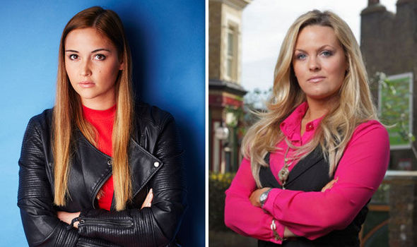 Lauren Branning and Tanya Branning EastEnders