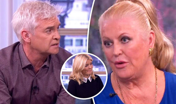 Phillip Schofield Holly Willoughby Kim Woodburn