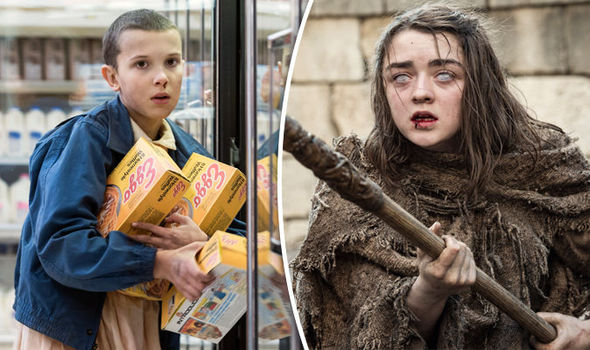 Stranger Things' Eleven and Arya Stark