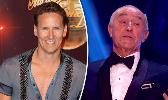 Brendan Cole and Len Goodman