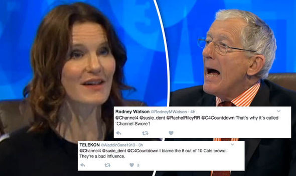 Susie Dent and Nick Hewer