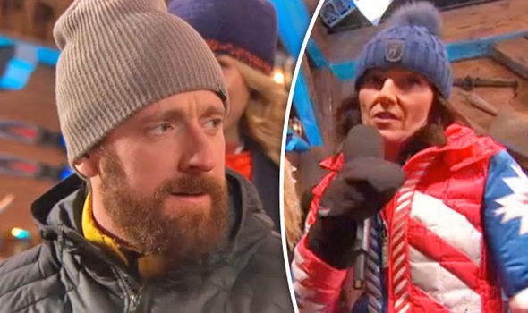 The Jump 2017 Davina McCall FORCED to apologise as Bradley Wiggins SWEARS live on air