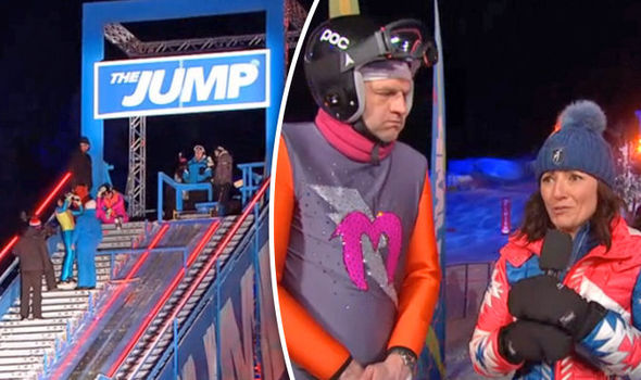 The Jump 2017 Josie Gibson REFUSES to jump forcing Davina McCall's show to over-run