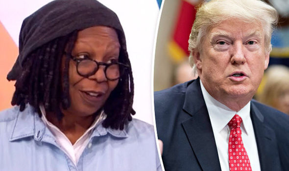 Whoopi Goldberg Donald Trump