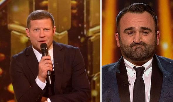 X Factor 2018 Dermot OLeary Danny Tetley