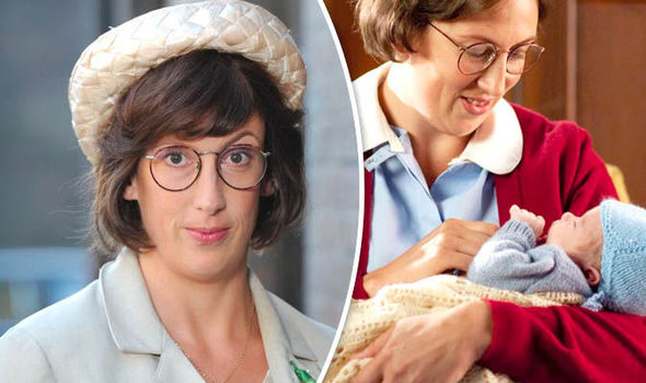 Miranda Hart in Call The Midwife
