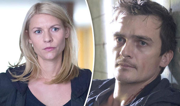 Homeland: Carrie and Quinn