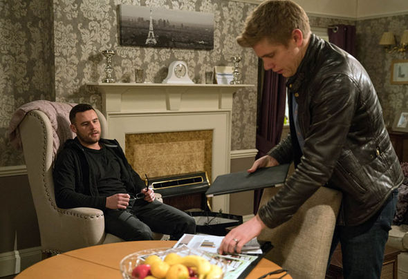 Aaron Dingle and Robert Sugden Robron Emmerdale
