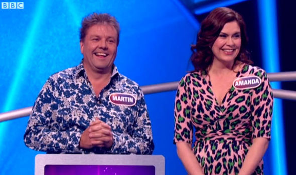Amanda Lamb Martin Roberts Pointless Celebrities