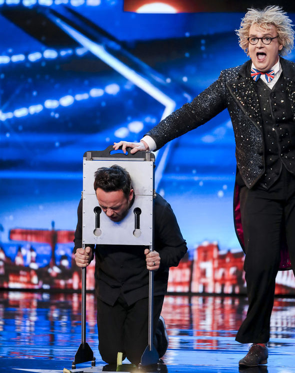 Ant McPartlin on Britain's Got Talent
