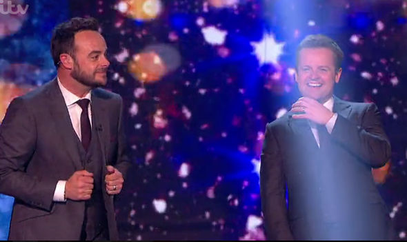 Ant and Dec shocked