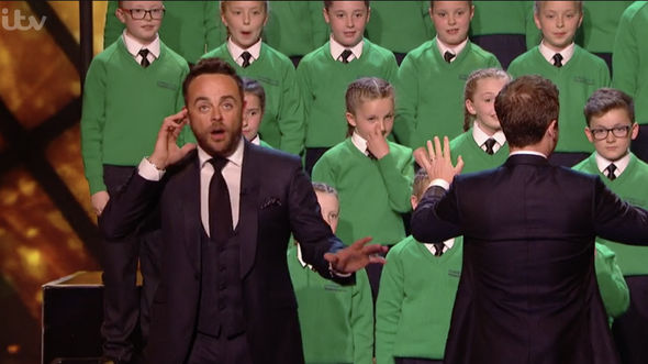 Ant and Dec were forced to intervene