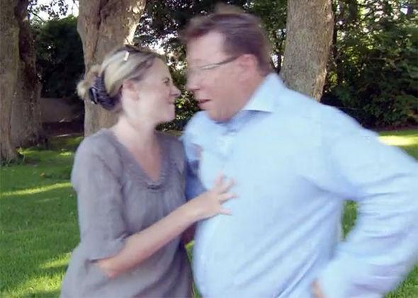 Antiques Road Trip BBC argument push Mark Stacey Catherine Southon