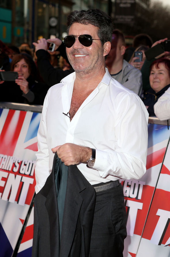 Simon Cowell at BGT auditions
