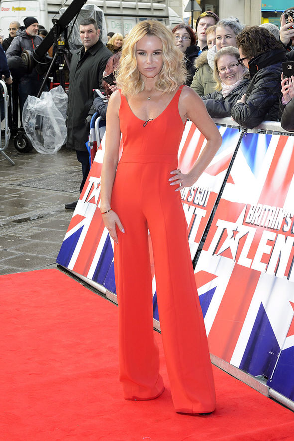 Amanda Holden at BGT auditions