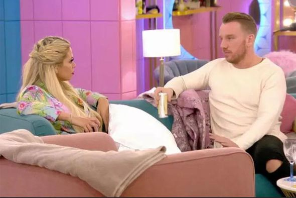 Bianca Gascoigne and Jamie O'Hara row